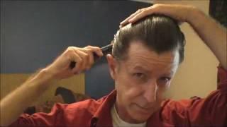 Slicking My Hair back