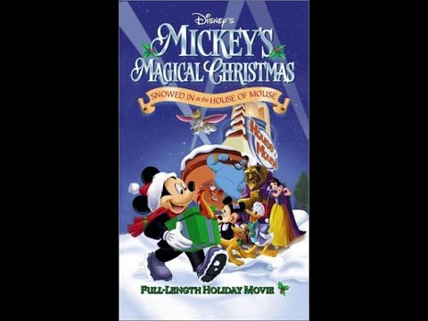 opening to mickeys magical christmas snowed in at the house of mouse 2001 vhs - Mickeys Magical Christmas