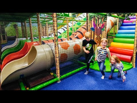 Indoor Playground Fun At Leo's Lekland