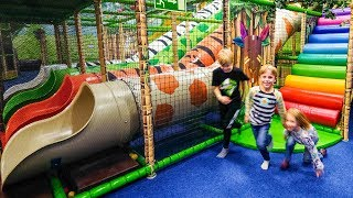 Indoor Playground Fun at Leo