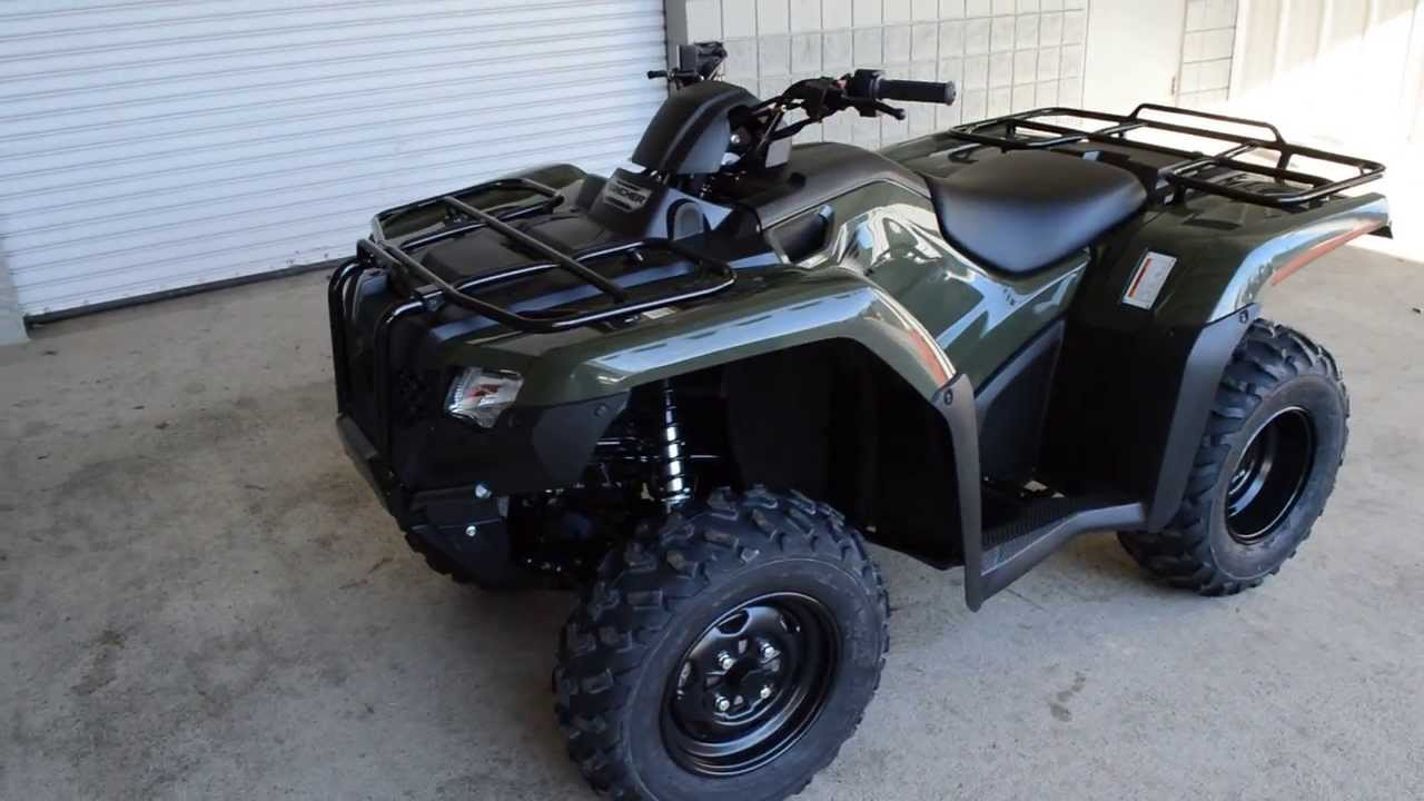 Honda Four Wheelers For Sale >> 2014 Rancher 420 2x4 Four Wheeler Sale Honda Of Chattanooga Tn Powersports 2014 Trx420tm