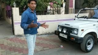 EPS Maruti Gypsy test drive