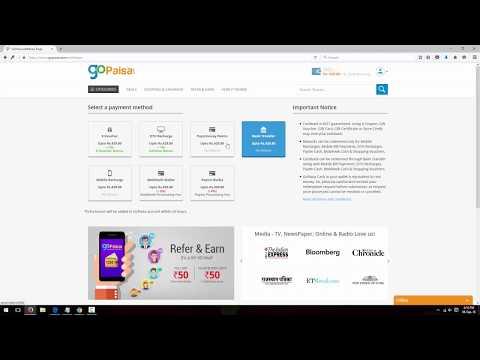 How to Redeem GoPaisa Cashback through Bank Transfer