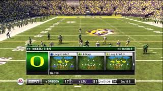 NCAA Football 13, Oregon @ LSU