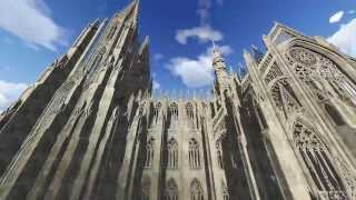 Gothic Architecture 2 / Rhino 5.0, Lumion, 3D Art