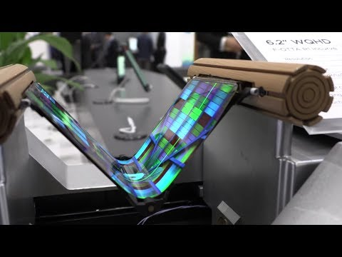 BOE Flexible Phone, 8K, 5644PPI micro-display (17x Retina), Printed OLED, QLED and more