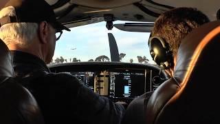 SUNSET FLIGHT! | Cirrus SR20 N667MT KHHR-KSBA