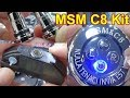 MSM C8 Kit   key of C8 Preliator Spyder   powered by 650mAh