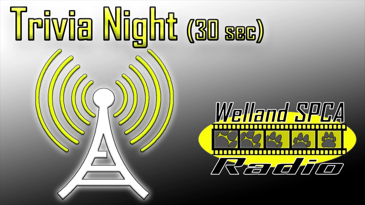 SPCA Trivia Night - Radio Ad (audio)