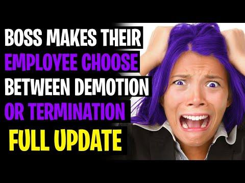 Boss Tells Employee