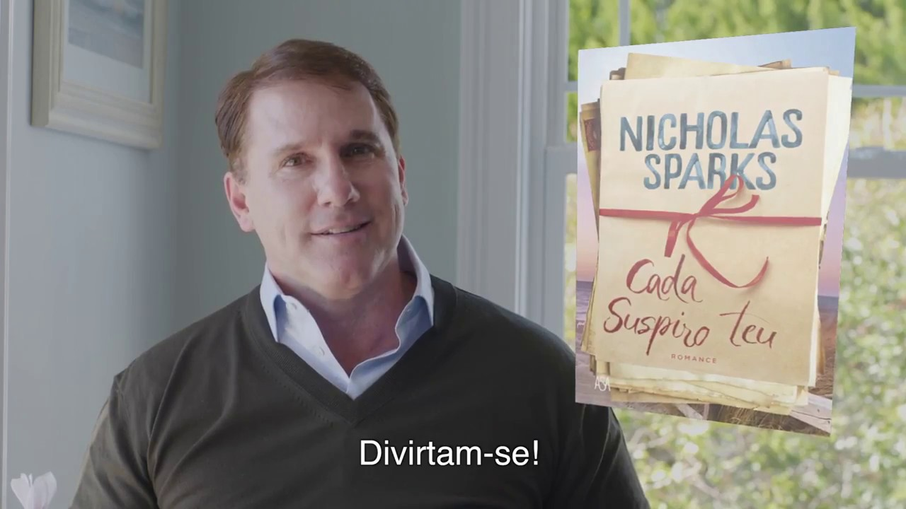 Cada Suspiro Teu - Nicholas Sparks - Continente Online