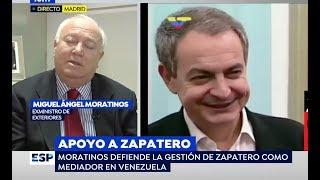 Venezuela: Moratinos defiende al lacayo de EEUU Zapatero. Pablo Iglesias sobre Albert Rivera y Bono