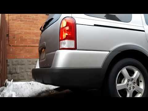 2007 Pontiac Montana SV6 Muffler Delete Cold Start