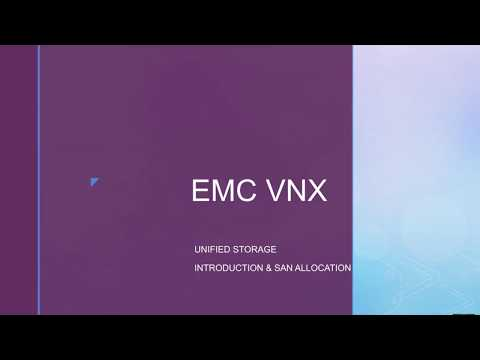 EMC VNX Storage Allocation - Initiator Registration, LUN