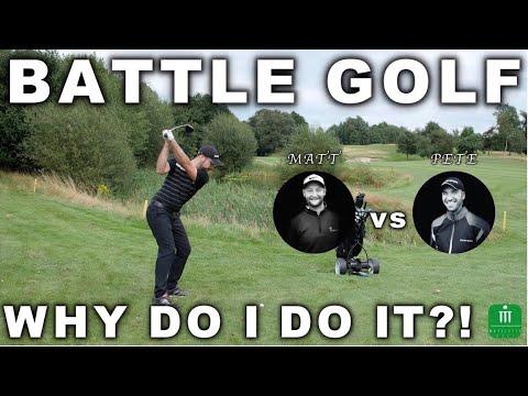 BATTLE GOLF vs PETER FINCH