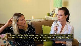 """Director Nadia Litz & Actress Dree Hemingway for 'THE PEOPLE GARDEN"""" (2016)"""