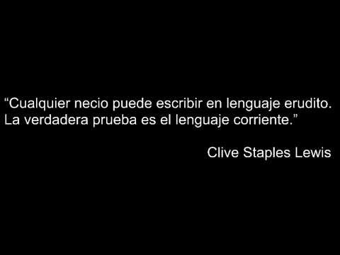 Frases De C S Lewis Youtube