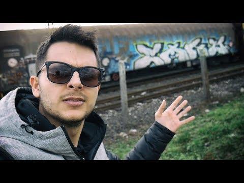 I paint Graffiti on Trains