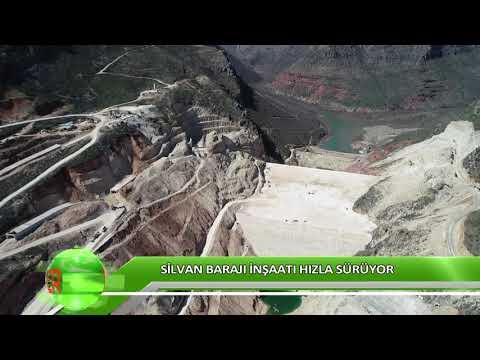 Silvan Barajı Inşaatı Hızla Sürüyor