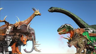 Today's Animals VS Dinosaurs | Cantex
