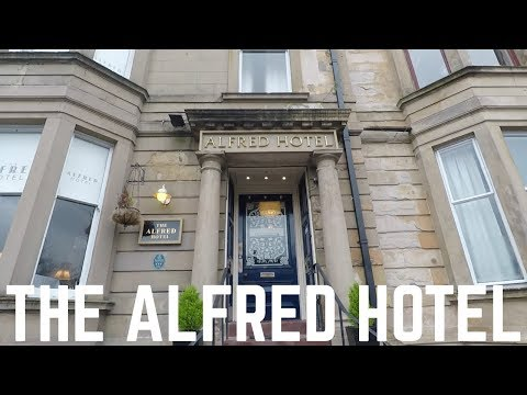 The Alfred Hotel In Glasgow, Scotland