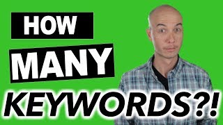 How Many Keywords Do You Need to START an Amazon Affiliate Site?