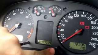 Volkswagen Golf 4 Oil Service Reset
