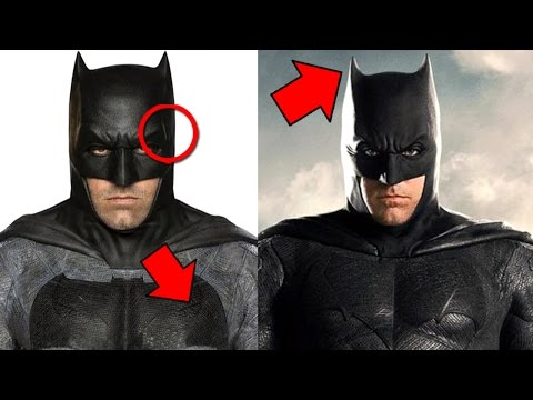 Batman vs Superman - Justice League - Batsuit Comparison In Depth Analysis