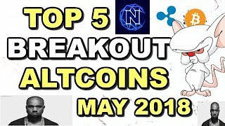 Top 7 Breakout Cryptocurrencies May 2018! 6x - 60x Potential! Top 7 Altcoins May 2018