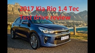 2017 Kia Rio 1.4 Tec test drive review