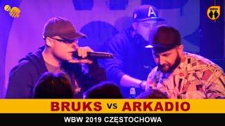 Arkadio  Bruks  WBW 2019 Częstochwa (freestyle rap battle)