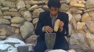أنا الشاهد: كيف تصنع قربة الماء في اليمن؟