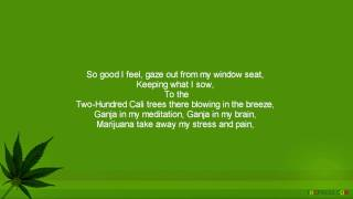 Ras Matthew - Ganja In My Brain (HQ) & Lyrics