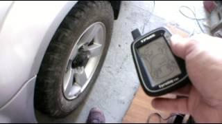 Система мониторинга давления в шинах на Suzuki Jimny