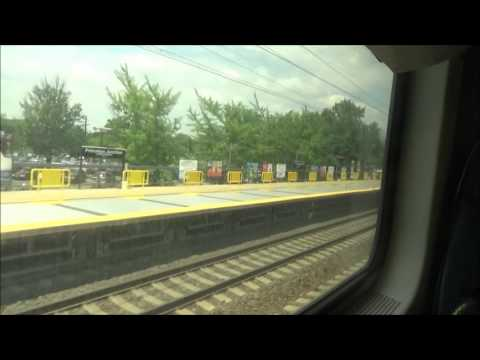 New Jersey Transit: Multilevel train ride from Trenton to Penn Station (FULL RIDE)