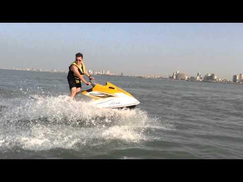 Jet skiing in Kuwait
