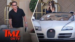 The Terminator Terminates His Bugatti! | TMZ TV