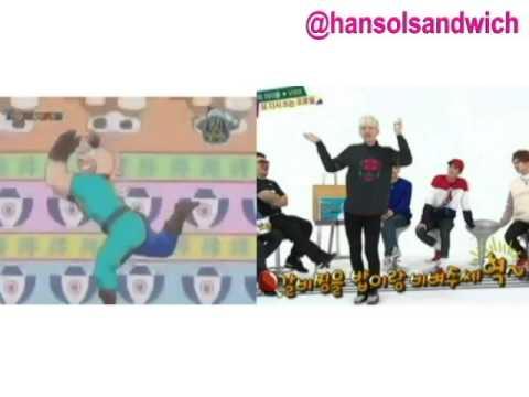 VIXX Hyuk - Galbi-Jim Song (Rice and Cow Song) vs. Kinnikuman