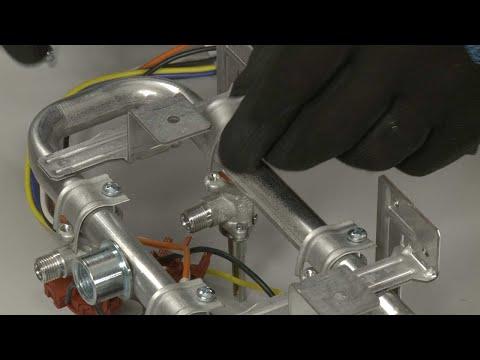 Left Front/Center Rear Burner Valve – Kitchenaid Gas Downdraft Cooktop Repair (Model #KCGD506GSS00)