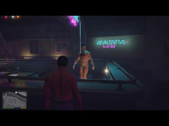 [NSFW] Grand Theft Auto V Male Stripper mod
