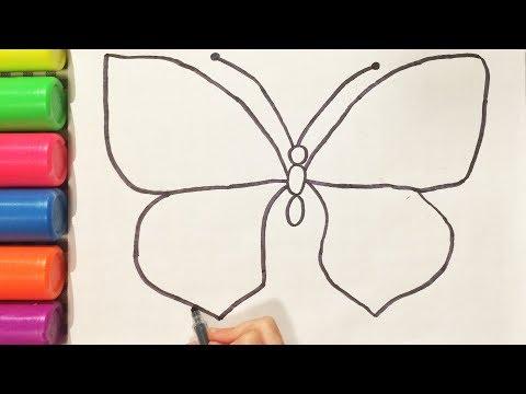 Как нарисовать рисунок бабочки