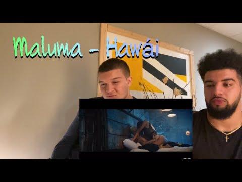 Maluma - Hawái (Official Video) | REACTION