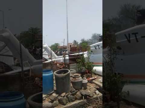 Maharashtra CM Devendra Fadnavis escaped unhurt after the chopper crash-landed in Latur, Maharashtra