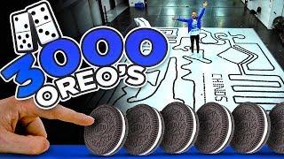 EFECTO DOMINO  3000 OREO ´S -  LOS RULES - JORGE ANZALDO - DIEGO CARDENAS