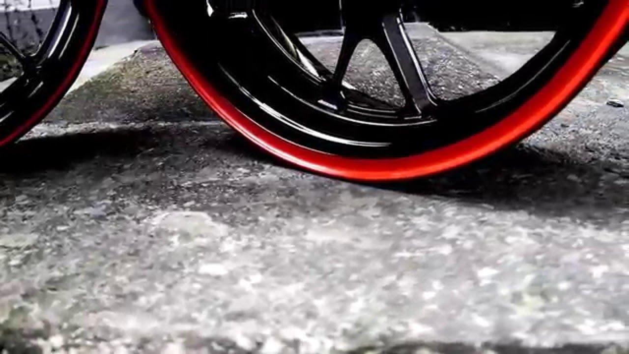 pbbr pulverbeschichtung i motorrad i felgen i bicolor zweifarbige