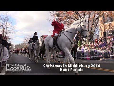 christmas in middleburg 2016 hunt parade