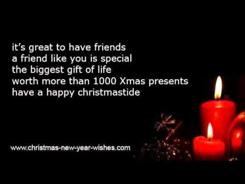 christmas poems friends friendship greetings
