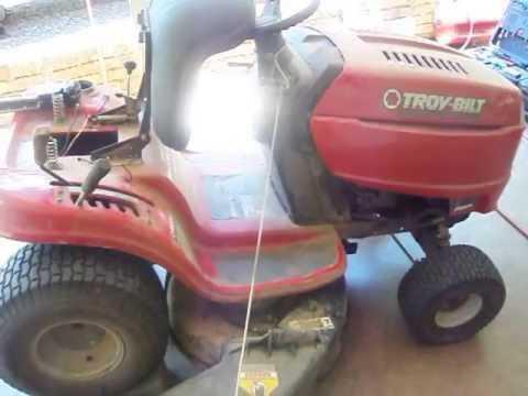 hqdefault troy bilt pony drive belt change help youtube  at mifinder.co