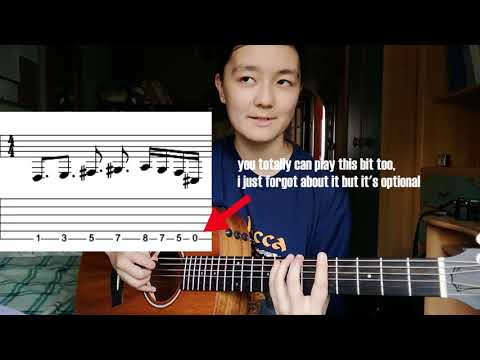 How To Play Cradle To The Grave (lesson + tabs)