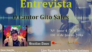 Entrevista  o  cantor Gito Sales